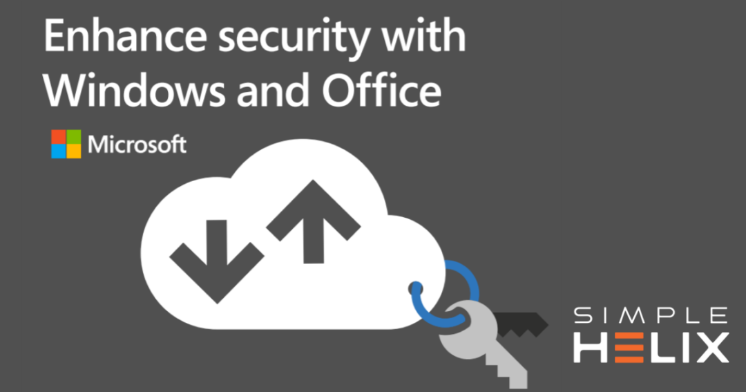 Enhance Security with Windows and Office Infographic